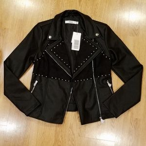 JustFab Faux Leather Jacket